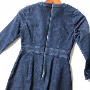 Banana Republic Dresses - Banana Republic denim dress; new w/tag; size 00P